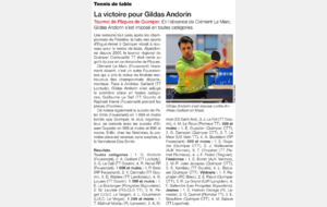 OUEST FRANCE 28/03/16