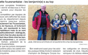 OUEST FRANCE 18/01/2019