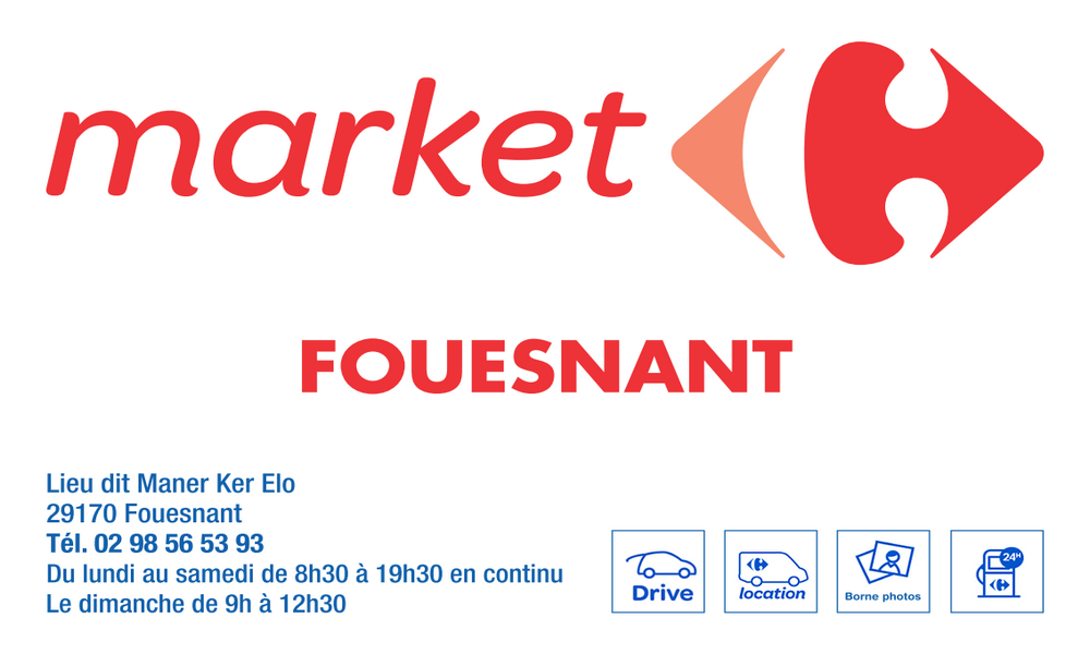 Carrefour Market Fouesnant